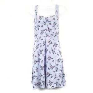 Topshop   Lilac Floral Sundress 8